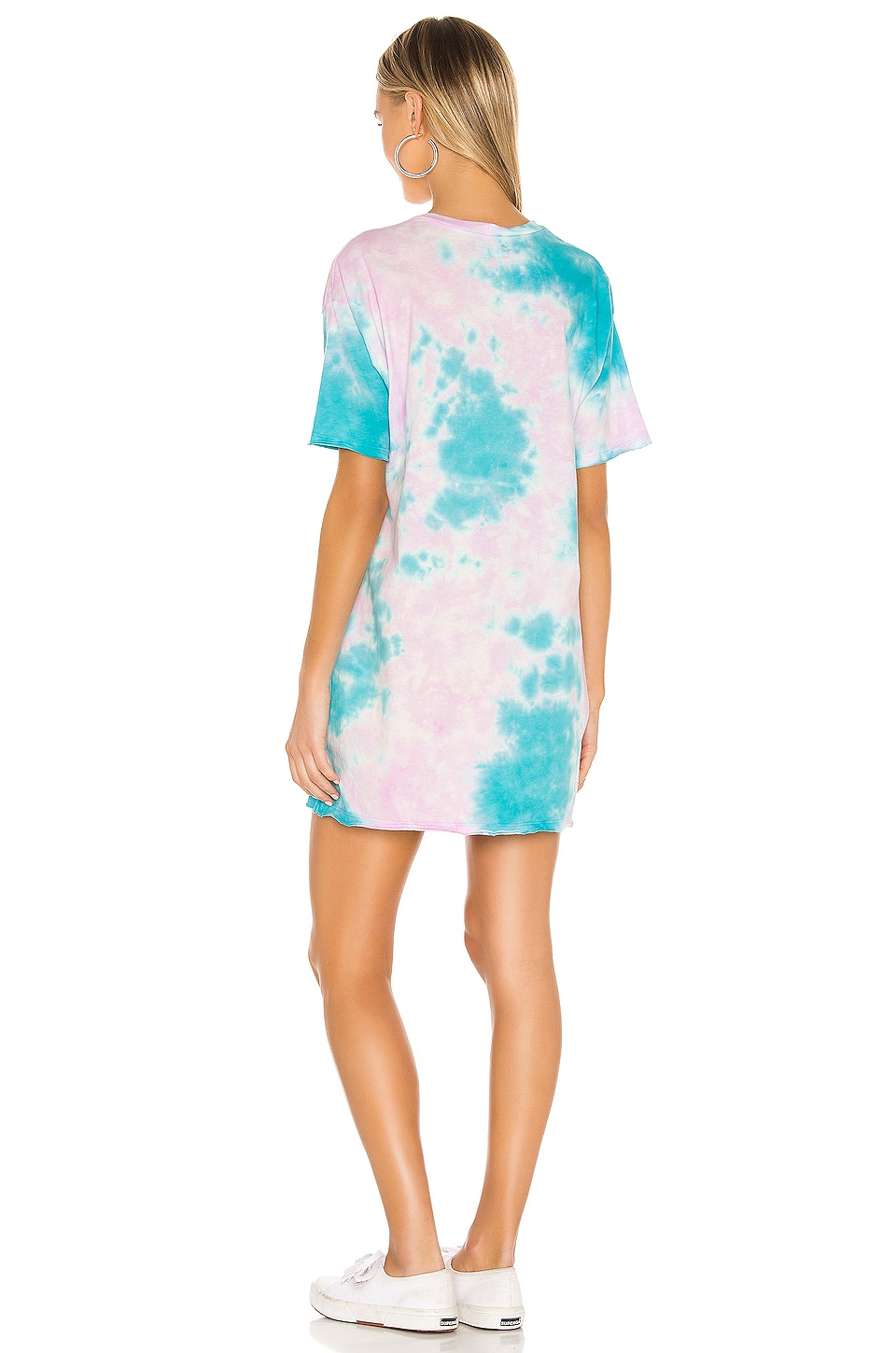 Burman Oversized T-Shirt Dress, view 3, click to view large image.