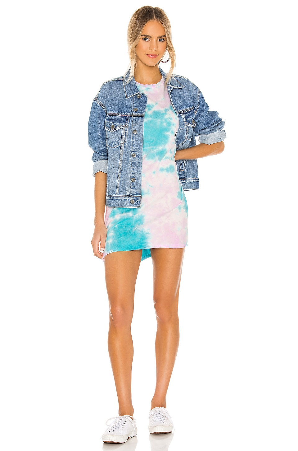 Burman Oversized T-Shirt Dress, view 4, click to view large image.