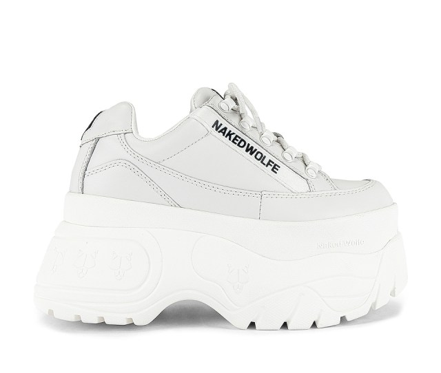 Naked Wolfe Sprinter Sneaker In White Revolve