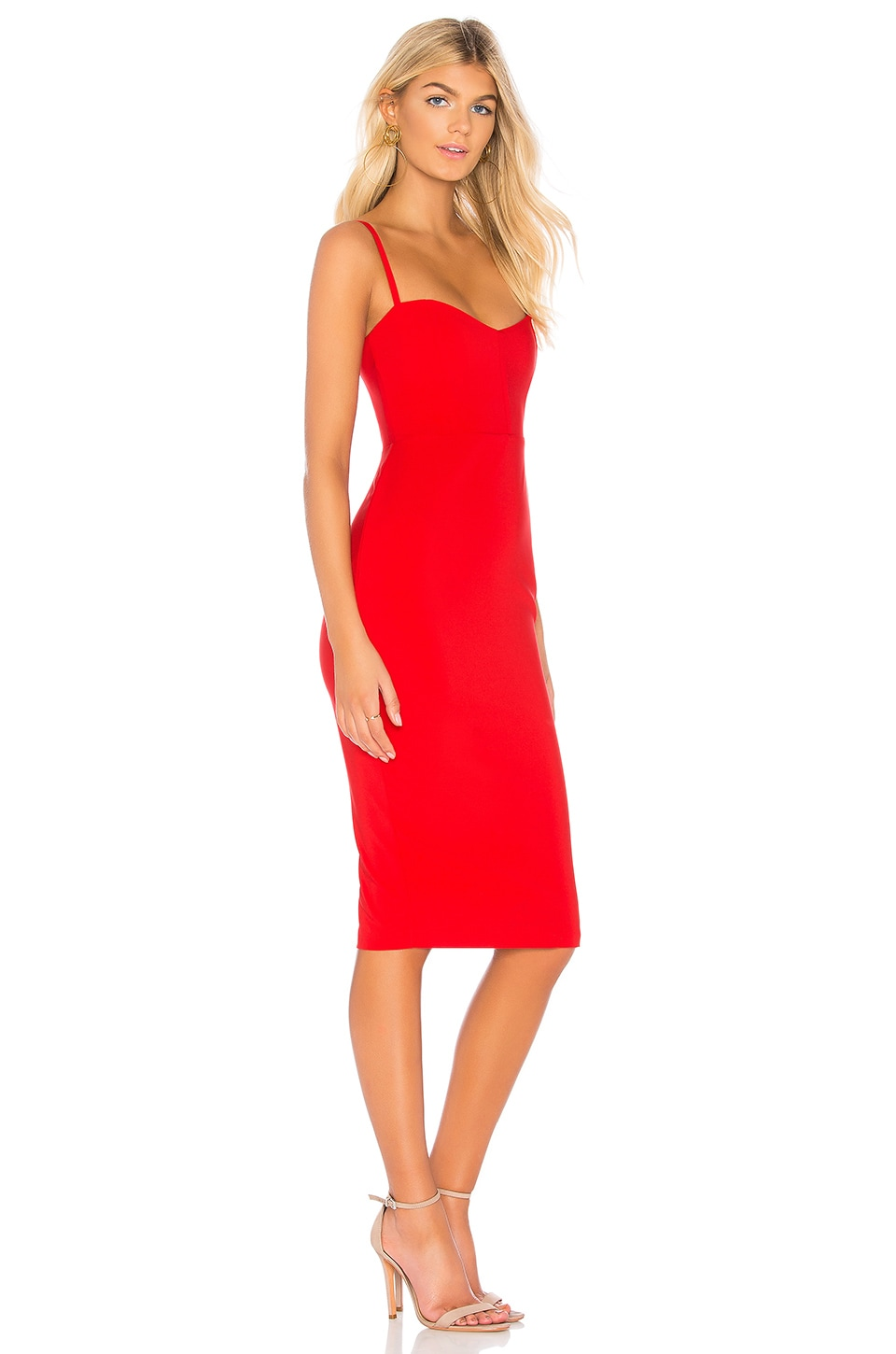Allure Midi Dress, view 2, click to view large image.