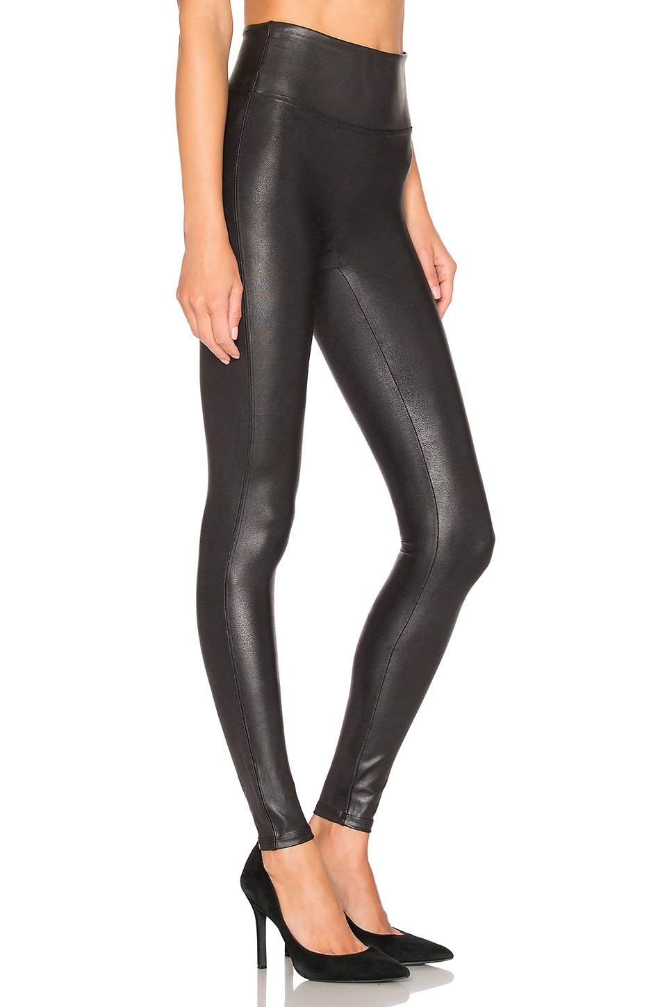 Faux Leather Leggings, view 2, click to view large image.