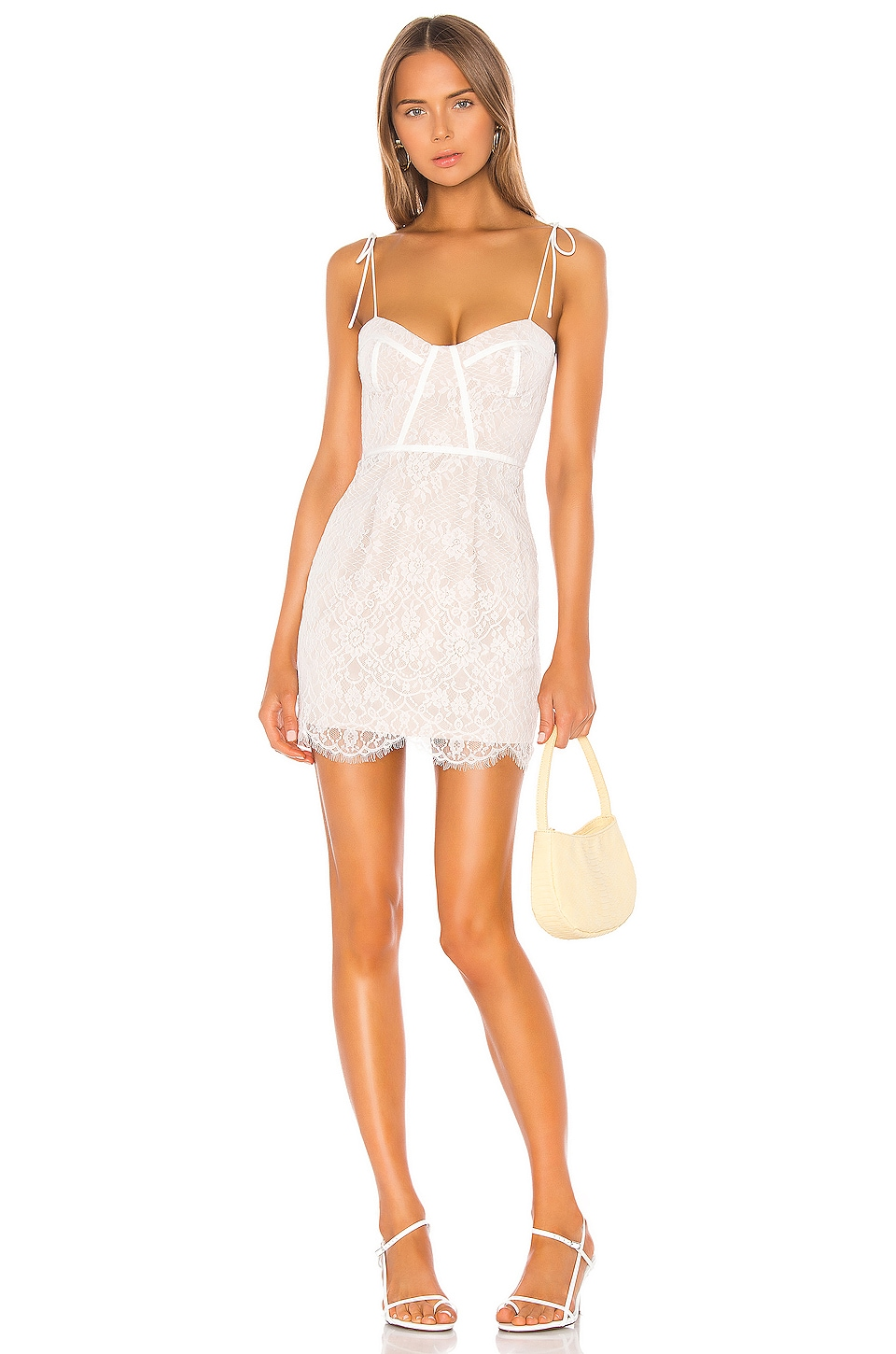 Lottie Lace Bustier Dress                   superdown                                                                                                                             CA$ 115.08 2