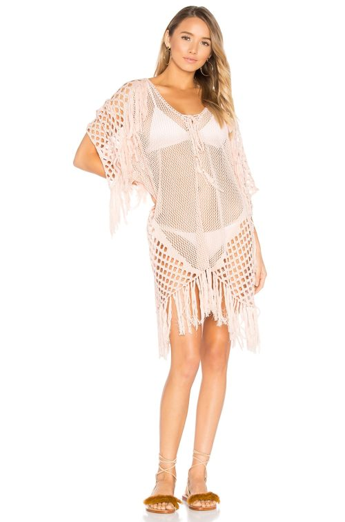 New Romantics Fringe Caftan; what you should pack for a California road trip