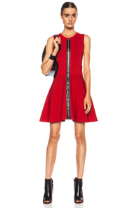 A.L.C. Dolls Rayon-Blend Dress in Red