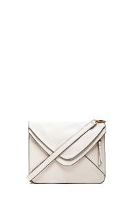 Boyy Mini Slash 2.0 Bag in White,Animal Print