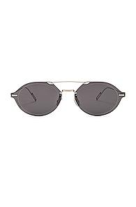 Dior Chroma 3 Sunglasses in Black,Metallic