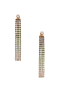 JACQUEMUS Monaco Earrings in Green