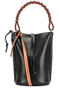 Loewe Gate Bucket Bag in Black