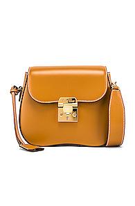Mark Cross Lexington Mini Bag in Brown