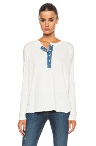 NSF Abbott Poly-Blend Shirt in White