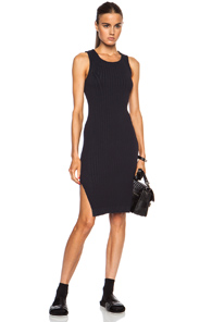 rag & bone Leslie Polyamide-Blend Dress in Black