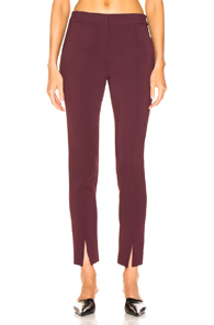 Tibi Beatle Menswear Pant in Purple