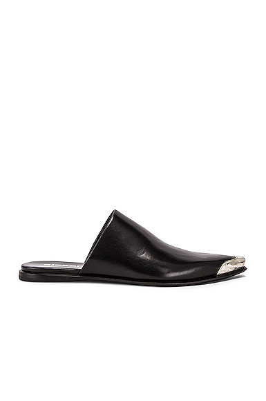 Alexander Wang Sullivan Calf Mule in Black. - size 39 (also in 36,36.5,37,37.5,38,38.5,39.5,40,41)