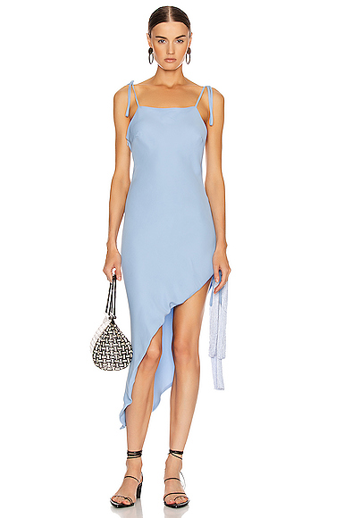 Cult Gaia Giselle Dress in Blue. - size S (also in L,M,XS)