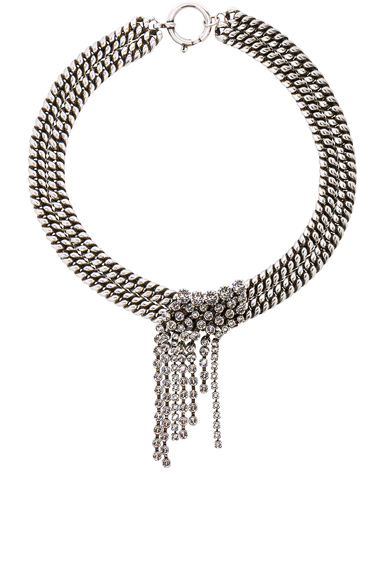 Isabel Marant A Wild Shore Choker in White.