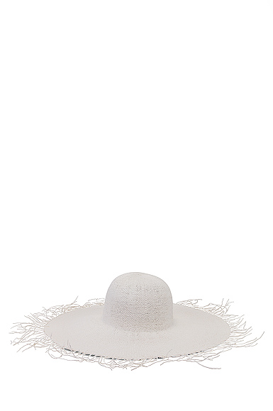 JACQUEMUS Riviera Hat in White.