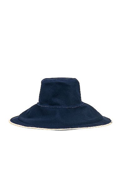 Lola Hats Single Take in Blue.