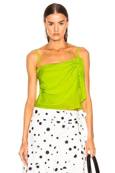 Miaou Sonia Top in Green. - size XS (also in S,M,L)