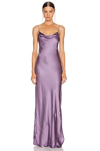 NILI LOTAN Juella Gown in Purple. - size M (also in S,XS)