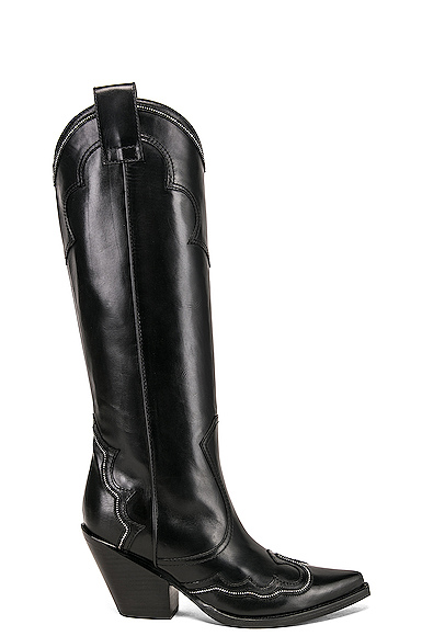 Redemption Cowboy Boot in Black. - size 39 (also in 38,40,41)