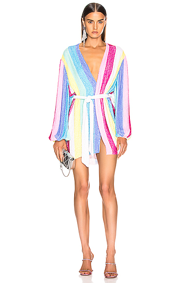 retrofete Gabrielle Robe Dress in Multi. - size M (also in )