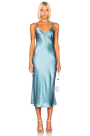SABLYN Taylor Slip Dress in Blue. - size XS (also in )