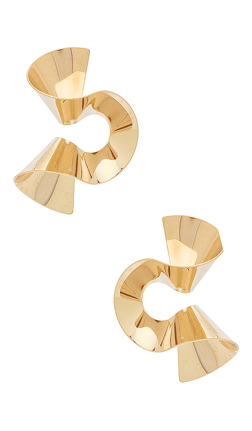 8 Other Reasons Joppie Earring in Metallic Gold.