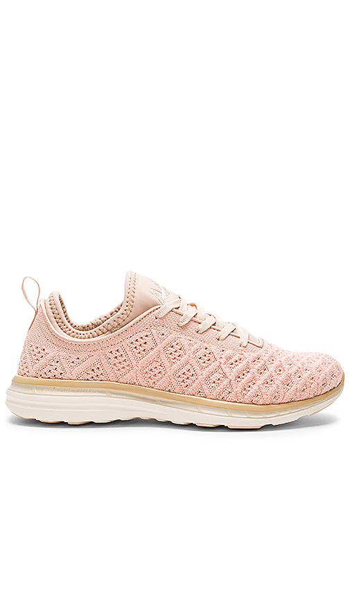 APL: Athletic Propulsion Labs TechLoom Phantom Sneaker in Pink. - size 6 (also in 10,5.5,7,7.5,8,8.5,9,9.5)