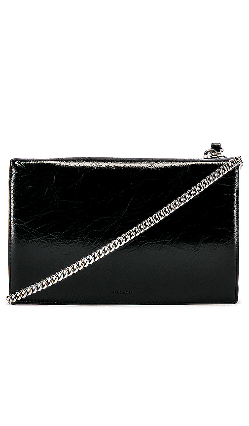 ALLSAINTS Fetch Chain Wallet in Black.