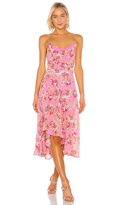 ASTR the Label Janine Dress in Pink. - size XS (also in M,L)