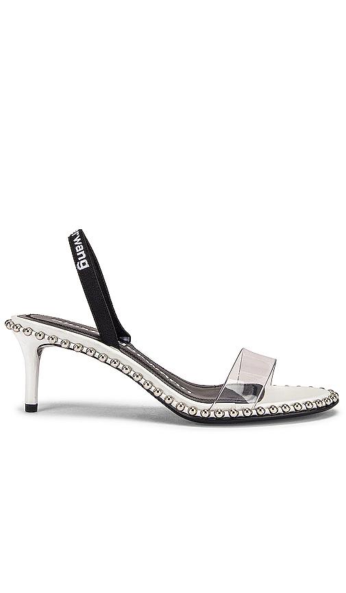 Alexander Wang Nova Low Heel in Metallic Silver. - size 37 (also in 36,36.5,37.5,38,38.5,39,39.5)