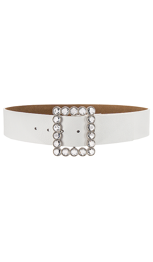 B-Low the Belt Diana Belt in White. - size S (also in XS,M,L)