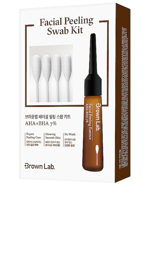 Brown Lab Facial Peeling Swab Kit in Beauty: NA.