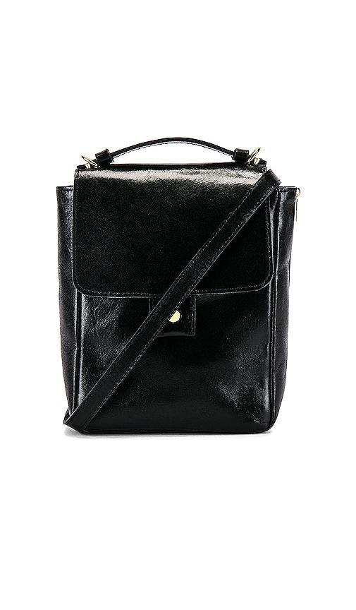 Clare V. Pocket Bag in Black.