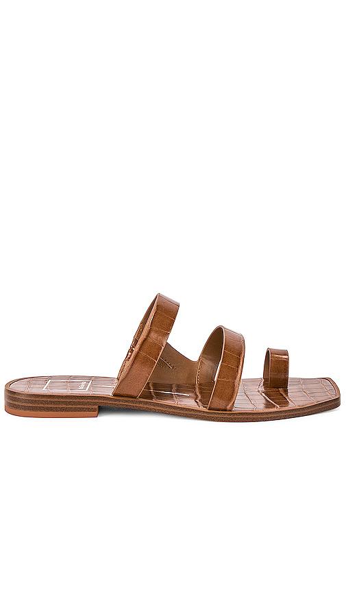 Dolce Vita Isala Sandal in Brown. - size 7 (also in 6,6.5,7.5,8,8.5,9,9.5,10)