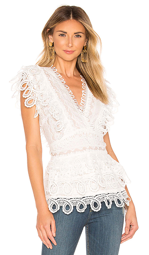 ELLIATT Terrace Top in White. - size L (also in S,XS,M)