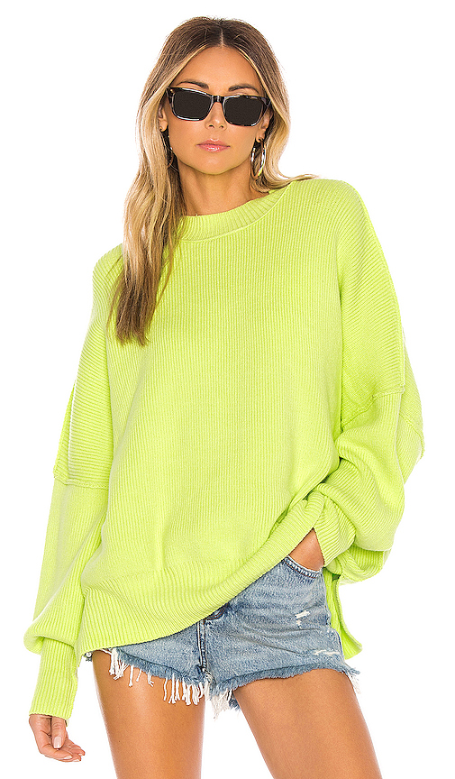 Free People Easy Street Tunic in Green. - size M (also in XS,S,L)