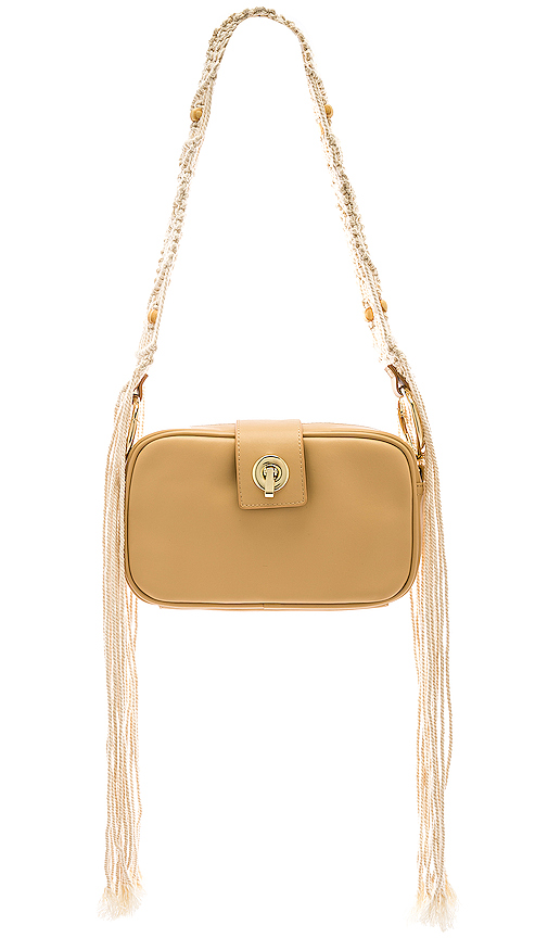 House of Harlow 1960 x REVOLVE Cacia Bag in Beige.