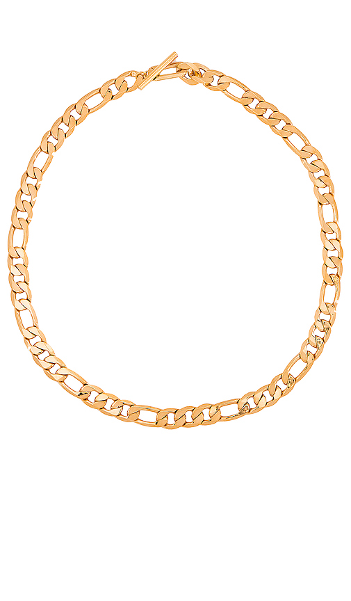 Jenny Bird Landry Chain in Metallic Gold.