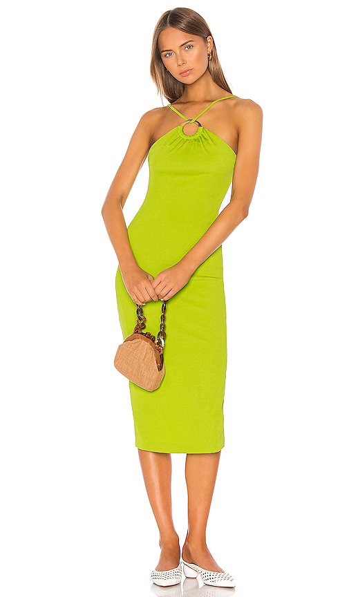 LPA Nadia Dress in Green. - size L (also in XXS,XS,S,M,XL)