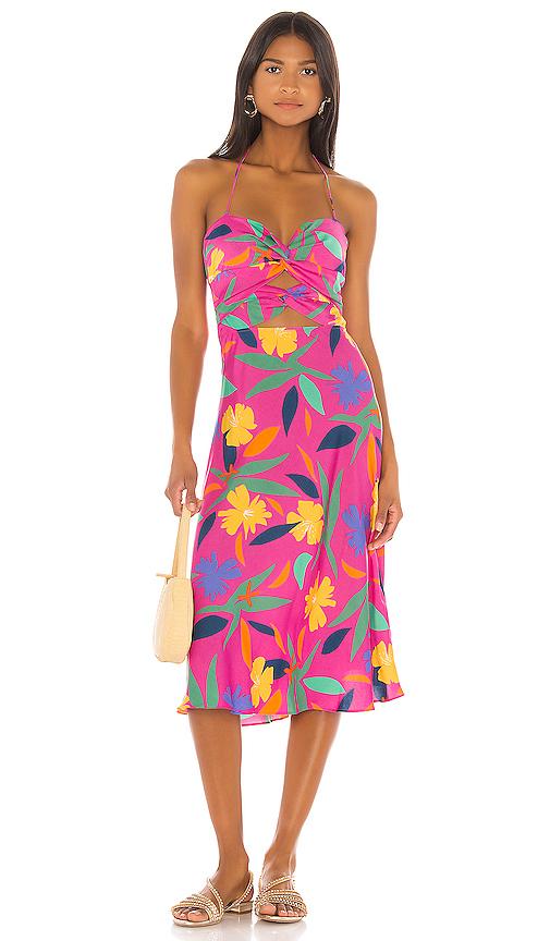 LPA Emilia Dress in Pink. - size XL (also in XXS,XS,S,M,L,XXL)
