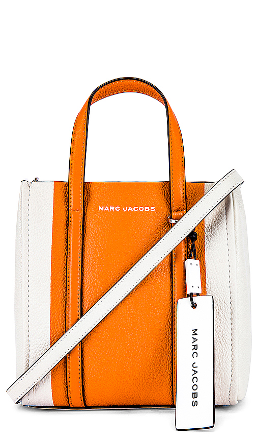 Marc Jacobs The Tag Tote 21 in Orange.