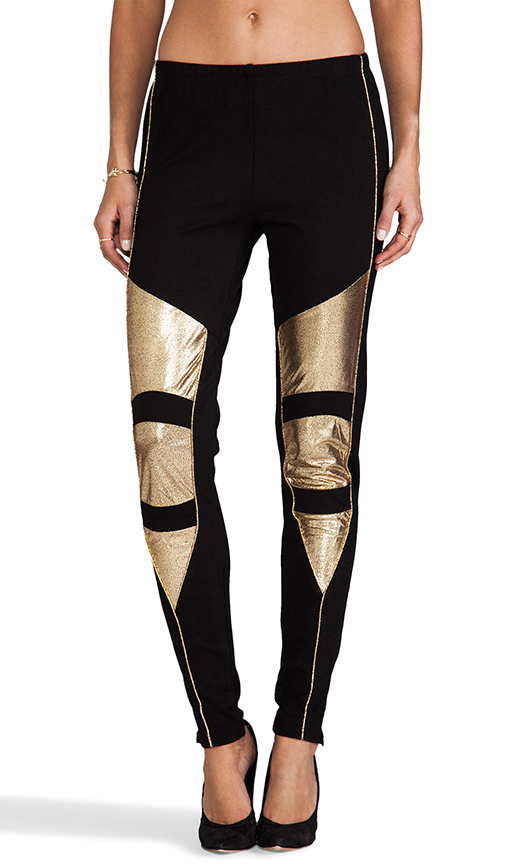 MINKPINK metallic leggings