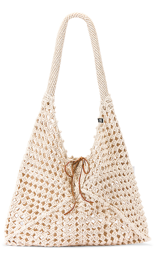 Nannacay Luna Bag in Beige.