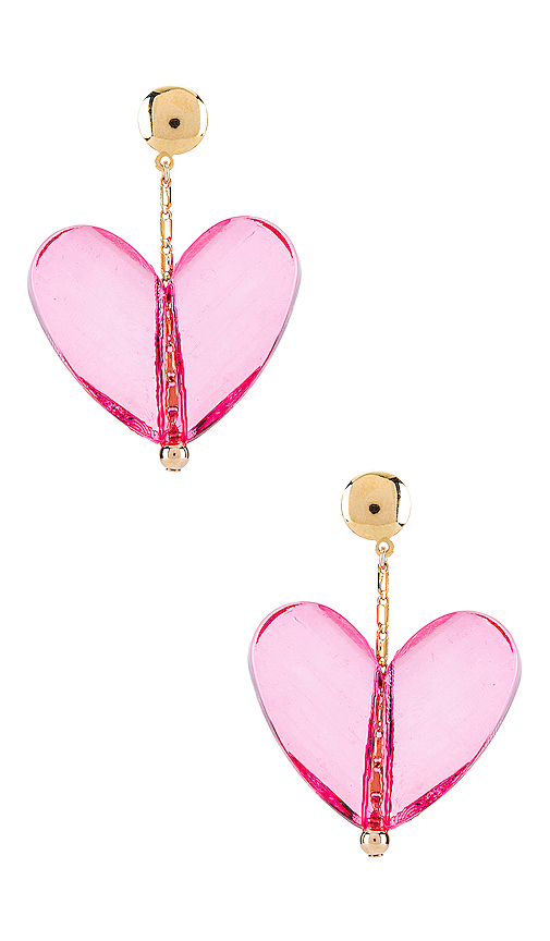 Paradigm Mon Couer Earrings in Pink.
