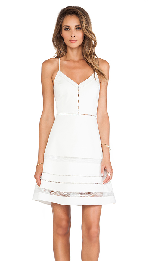 Parker Whitefield Dress in White