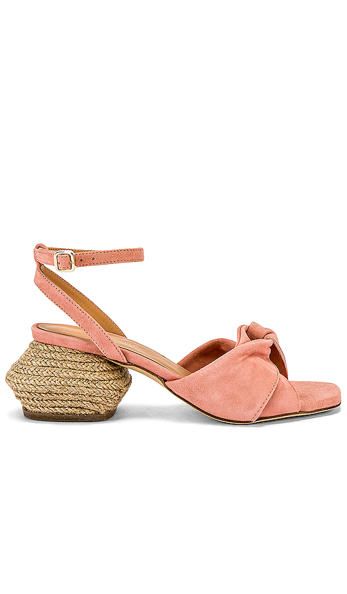 Paloma Barcelo Morgane Sandal in Pink. - size 36 (also in 35,37,38,39)