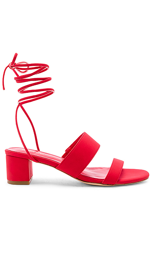 RAYE Paris Heel in Red. - size 6 (also in 5.5,6.5,7,7.5,8,8.5,9,9.5,10)
