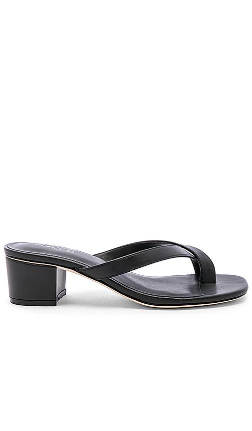 RAYE Estes Sandal in Black. - size 7 (also in 5.5,7.5,8,9,9.5,10)