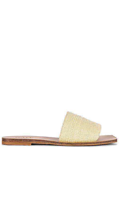 RAYE Mecca Sandal in Tan. - size 10 (also in 5.5,6,6.5,7,7.5,8,8.5,9,9.5)